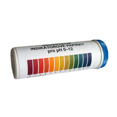 Univerzálny indikátorový papierik pH 0 - 12