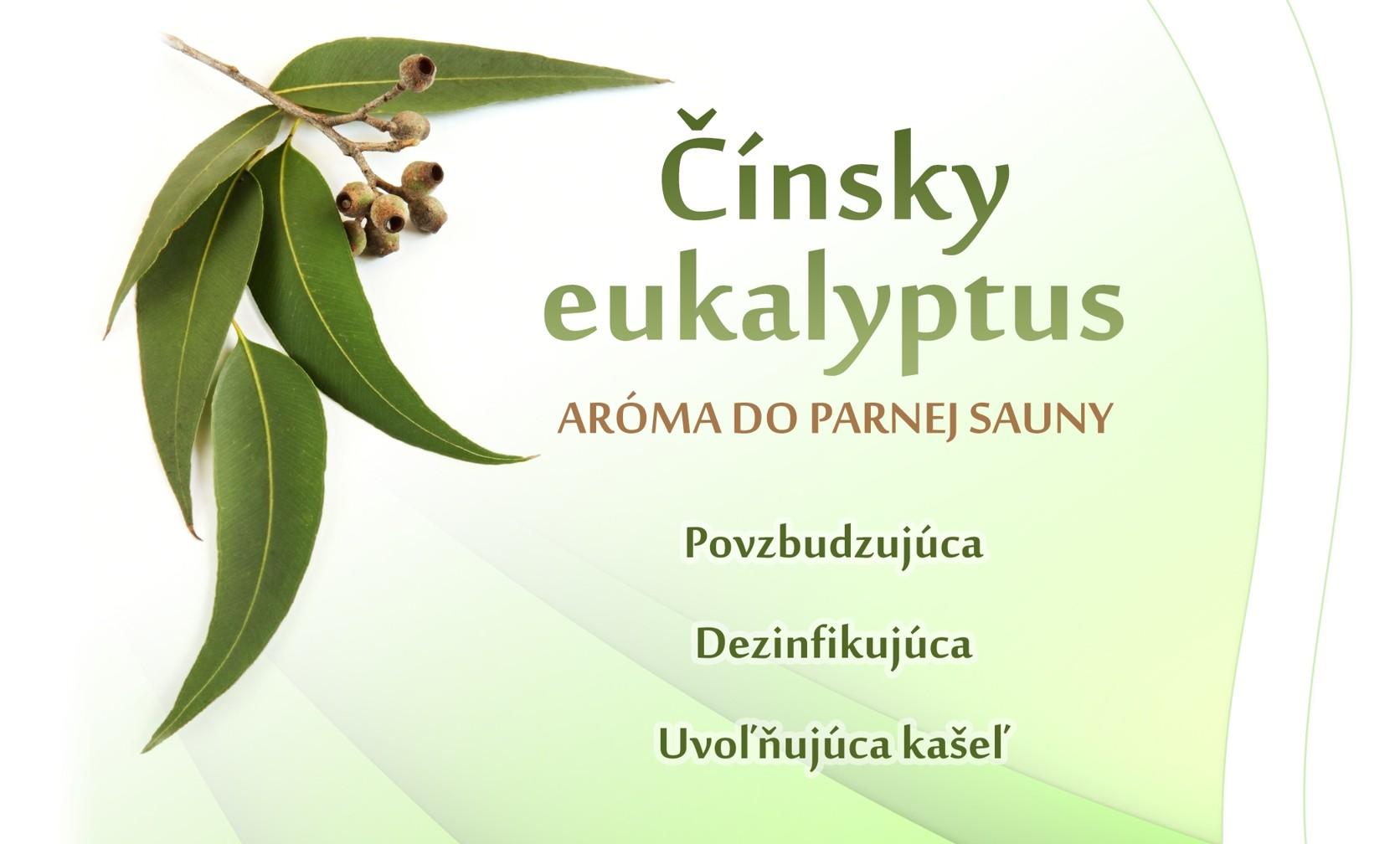 Čínsky eukaliptus - parná sauna