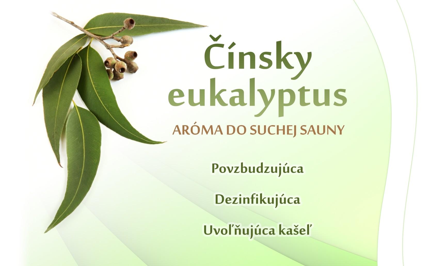 Čínsky eukaliptus - suchá sauna