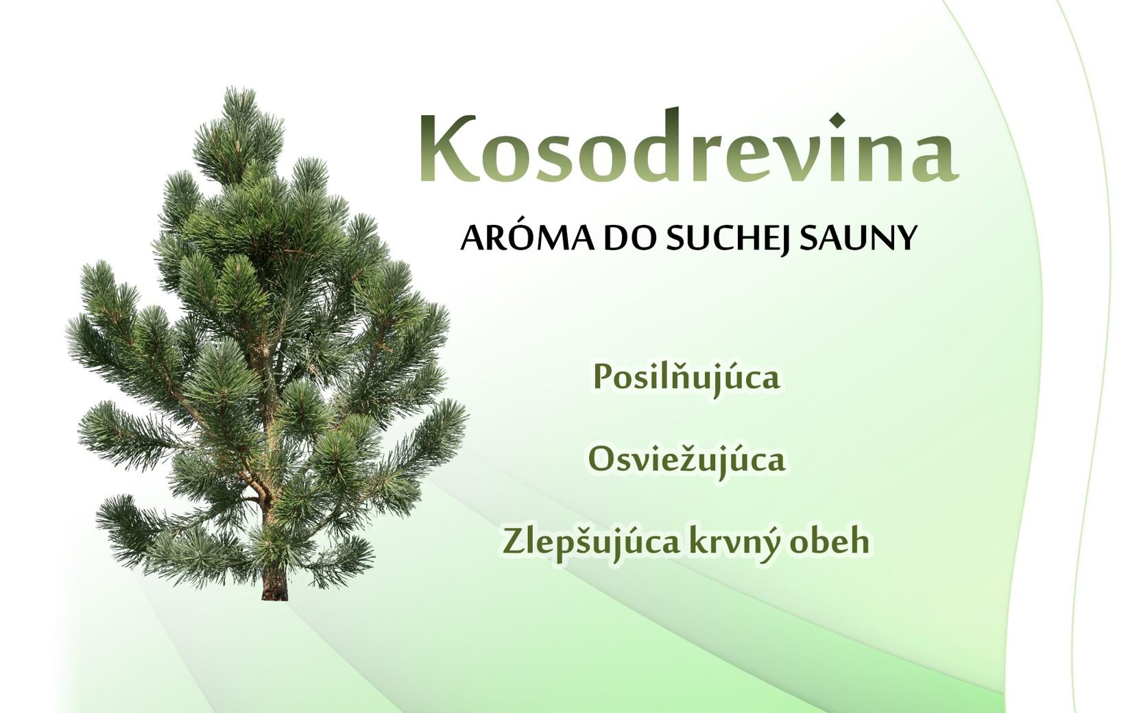 Kosodrevina - suchá sauna