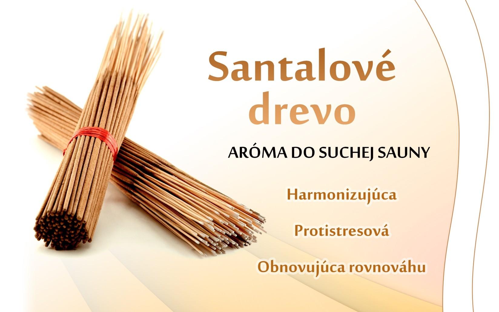 Santalové drevo - suchá sauna